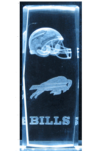 3D-Laser-Crystal-Cube--Buffalo-Bills