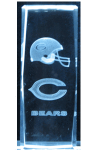 3D-Laser-Crystal-Cube-Chicago-Bears